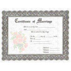 Fancy Certificate of Marriage