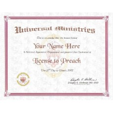 Licence to Preach